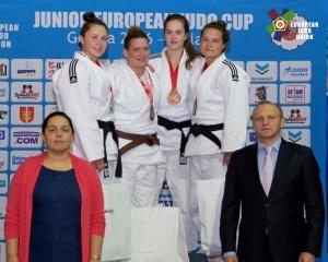 3. místo A.Matějčková 78 kg, EPJ POL